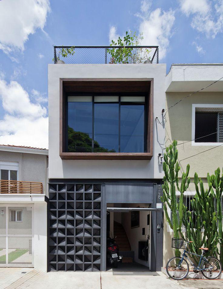 Típico  exemplo de Arquitetura que exerço. Galeria - Casa C A / Super Limão Studio - 1