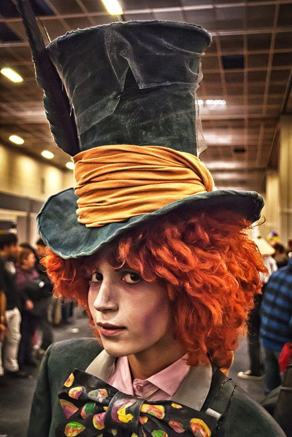 Sombrerero Loco - Alicia en el País de las Maravillas (Alice in Wonderland) #cosplays