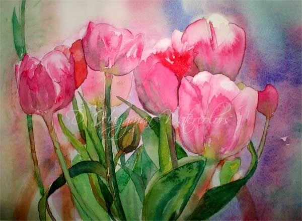All paintings d haggman watercolors watercolors for Watercolor art images