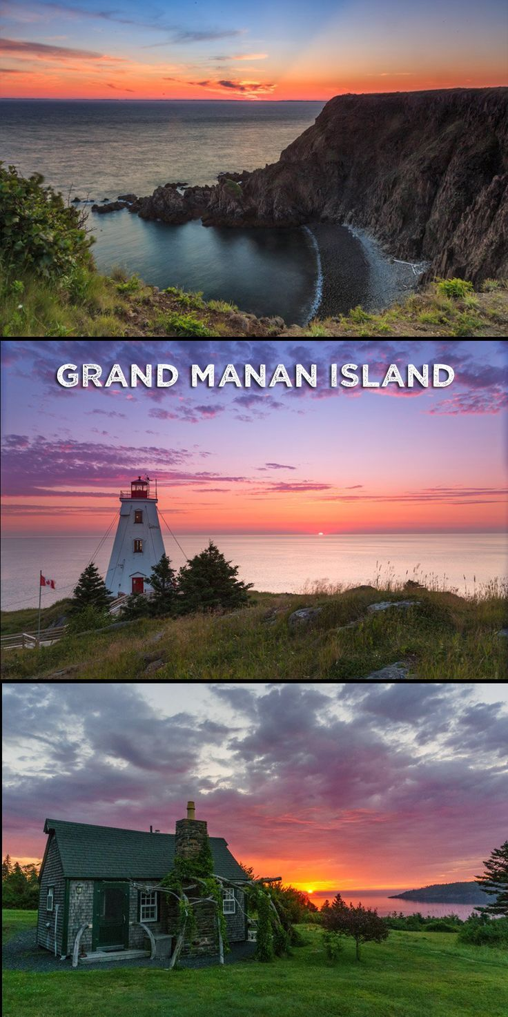 We never realized how beautiful the province of New Brunswick really is -- especially the gorgeous sunsets on the isle of Grand Manan.
