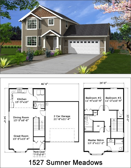 17 Best Images About Two Story Floor Plans On Pinterest