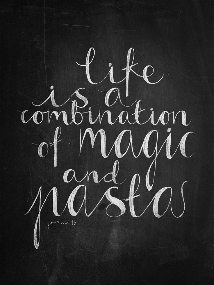 7 best Pasta Quotes images on Pinterest   Food network ...