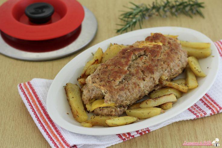 Polpettone+e+patate+con+Magic+Cooker