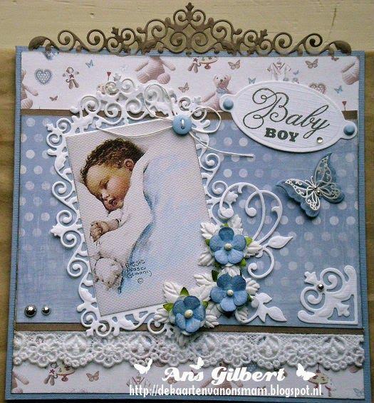 De kaarten van ons Mam: ...Baby Boy...