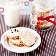 Шоколадное Овсяное печенье с кофейной глазурью