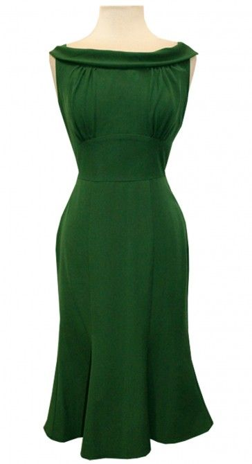 Stop Staring! Clover Green Dress