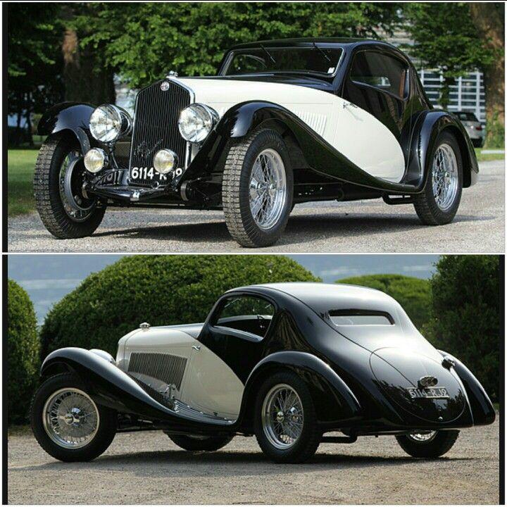 1933 Alfa Romeo 6C Figoni Coupe