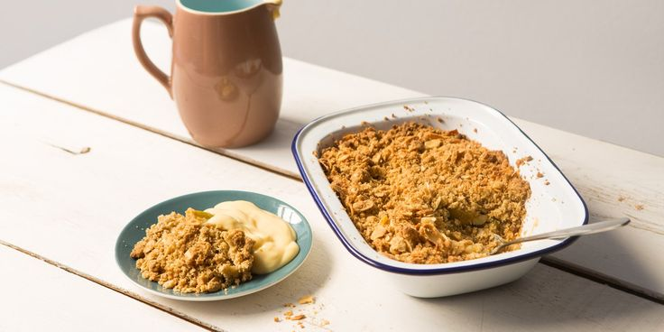 If you have a gluten or wheat intolerance you don't need to miss out on apple crumble, as Victoria shares her delicious recipe.
