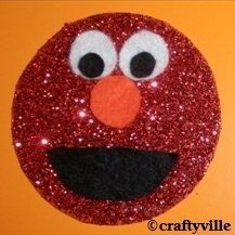 Lots of amazing elmo crafts. How to make elmo craft with foam, glitter and felt. Also find fun elmo crafts and printables including knitting,...
