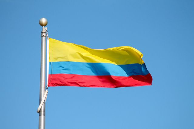 Colombia Flag- lets use this for the going away party