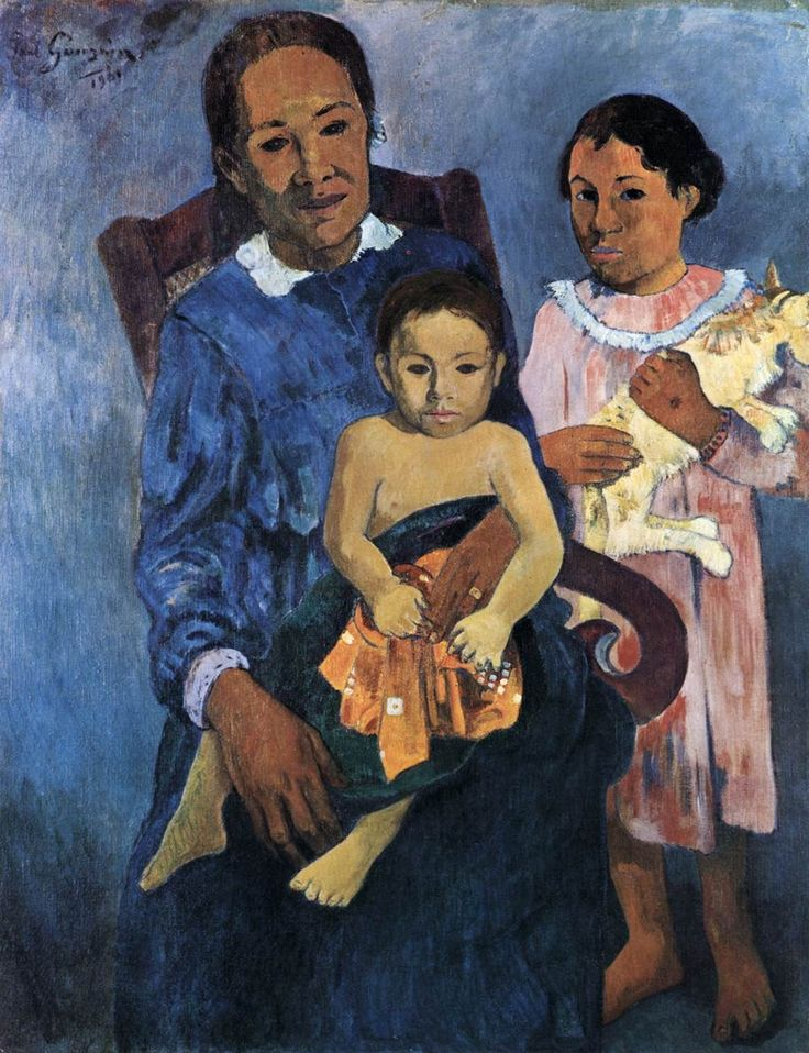 Woman and Two Children 1901 Oil on canvas, 97 x 74 cm Art Institute, Chicago