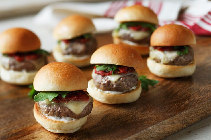 Learn how to make Grilled Lamb Sliders with Smoked Tomato Jam, Havarti Cheese & Arugula
