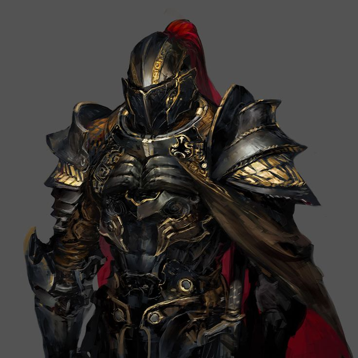 I like the detail and patterns of the armor and helmet which makes the knight stand out more