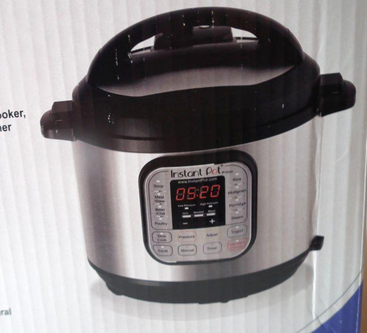 Instant Pot IP DUO60 ENW Stainless Steel 7 in 1 Multi Functional Pressure Cooker #InstantPot