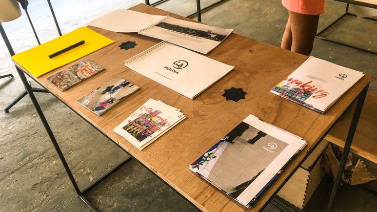 """Sur invitation de l'équipe de la Beirut Design Week, Houna a participé à la 6ème édition de l'événement qui réunit toute la région MENA du 19 au 26 mai autour du thème """"Est que le design est un besoin – is design a need ?""""."""