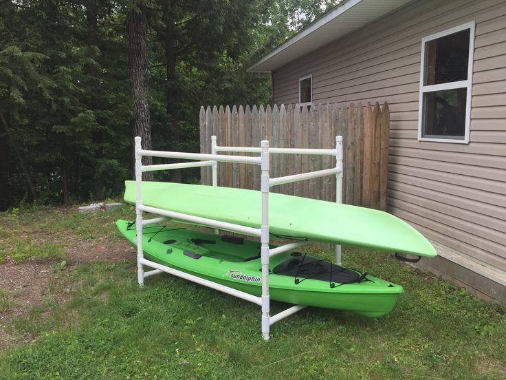 Best 25 Kayak Storage Rack Ideas On Pinterest Kayak