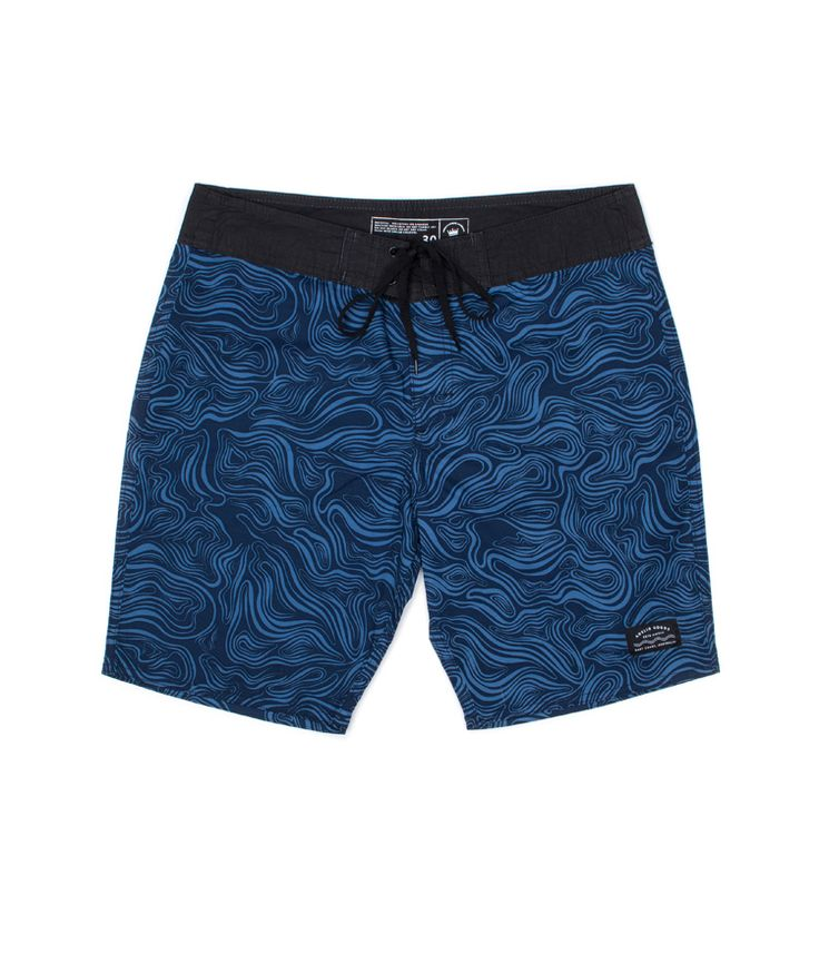 Undertow Navy/Fed Blue Boardshort