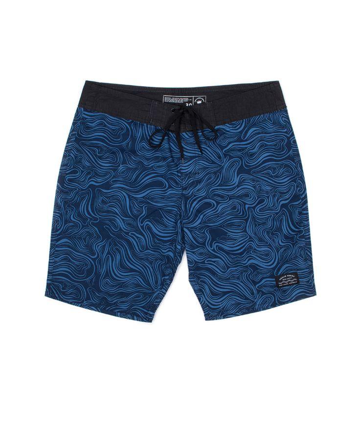 Undertow Navy/Fed Blue Boardshort