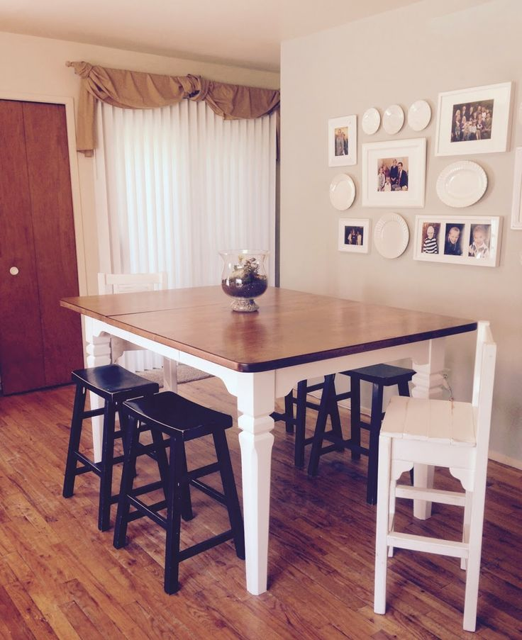 Top 25 Ideas About Refinished Dining Tables On Pinterest
