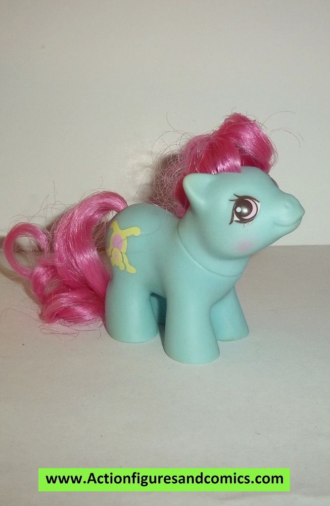 my little pony BABY SHAGGY 1988 mlp vintage 1989 ponies g1 generation 1