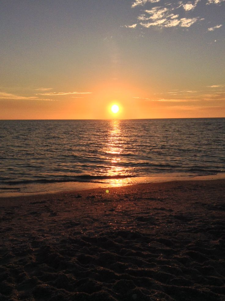 Florida sunset!! (Englewood beach)   Want To Travel :D ...