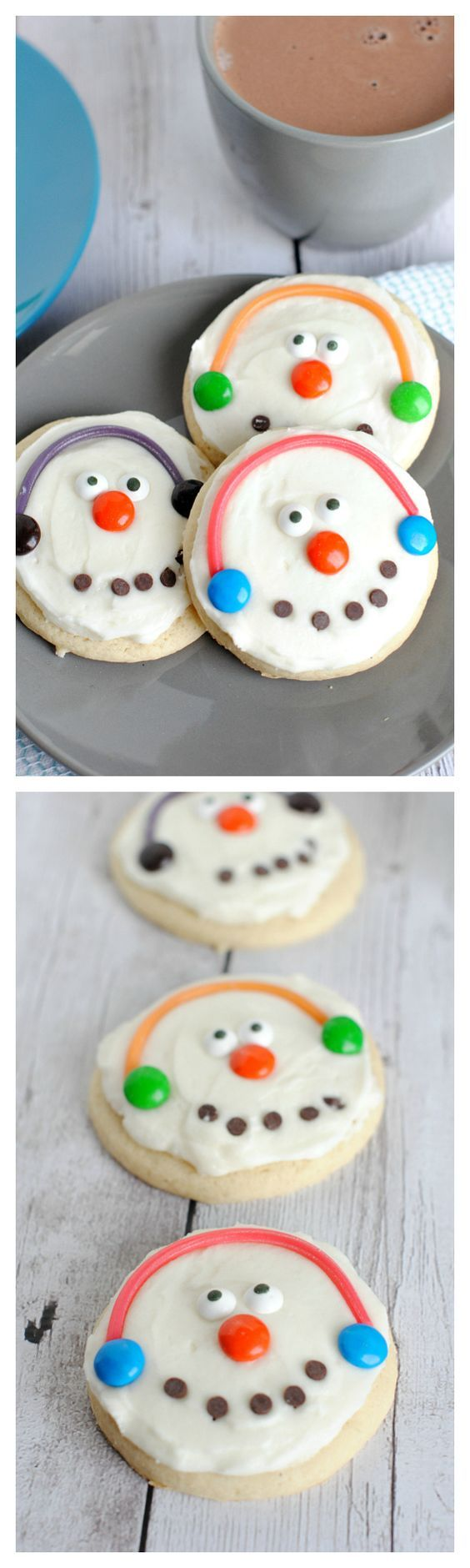 Cute and Easy Snowman Cookies | Crazy Little  Projects