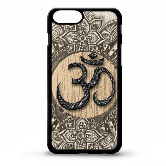Namaste Om Aum symbol floral mandala pattern graphic art cover for iphone 4 4s 5 5s 5c 6 6s plus SE phone case