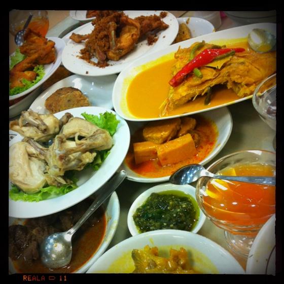 Food from West Sumatra