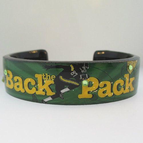 Debbie Brooks Back the Pack Design Nano Cuff Bracelet - American Antiques and Jewelry