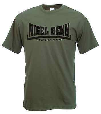 "Nigel benn ""the dark destroyer"" t-shirt, #boxing #champ - all sizes & #colours,  View more on the LINK: 	http://www.zeppy.io/product/gb/2/261292503961/"