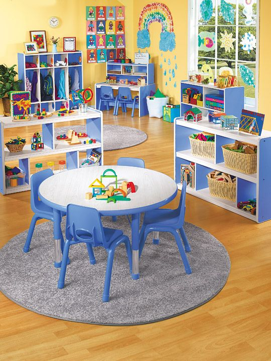 preschool - If only the classroom could stay this organized all the time.