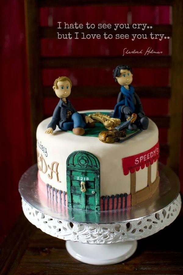 sherlock cake | Sherlock Holmes Cake