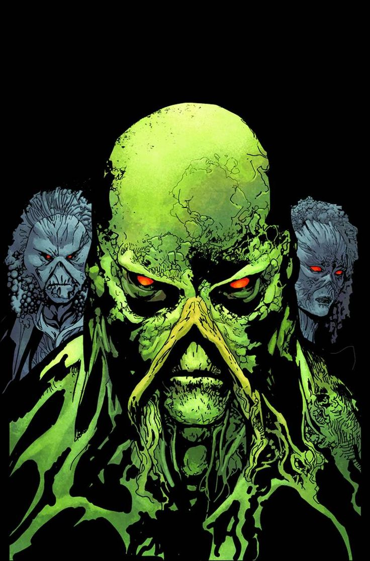 Swamp Thing New52 (Cover Artist: Travel Foreman)