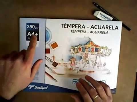 Acuarela: Materiales Imprescindibles para Pintar con Acuarelas