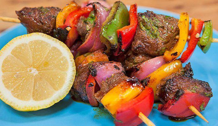 Kangaroo Kebabs - Good Chef Bad Chef
