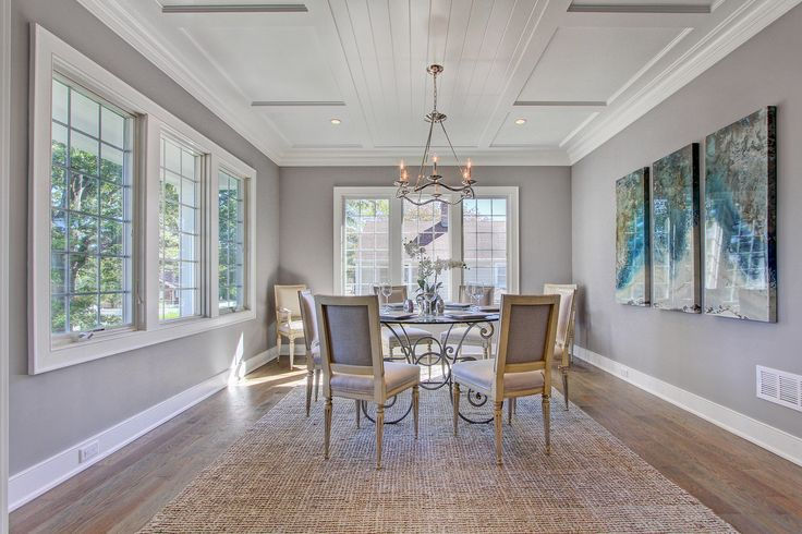 Your Dining Room With Stormy Monday Benjamin Moore Matte