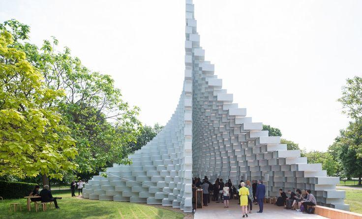 Serpentine Pavilion by BIG - Dinesen