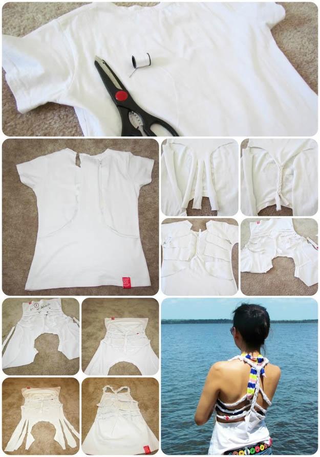 DIY t-shirt, make your own homemade shirts