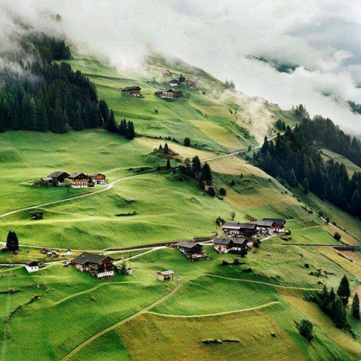 Mountain Village, Tyrol, Austria