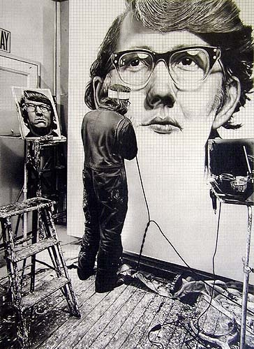 Dan Fisher - Chuck Close