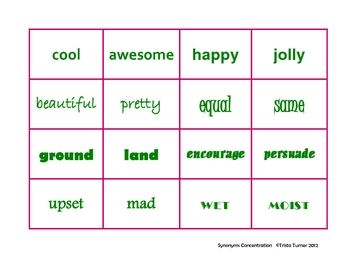 1000+ images about Synonyms/antonyms on Pinterest | Ants, Synonym ...