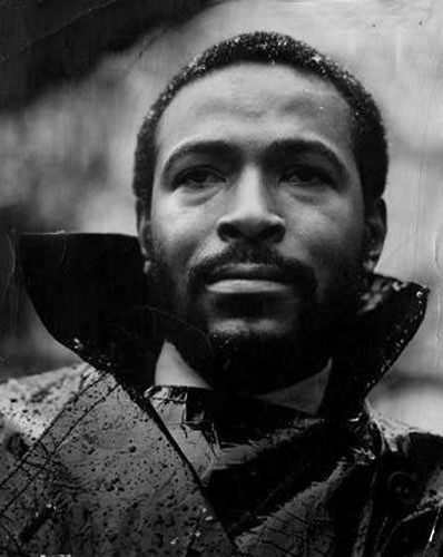 "Marvin Gaye. Because when those ""inner city blues"" made him ""wanna holler"", it made the rest of us wanna listen."