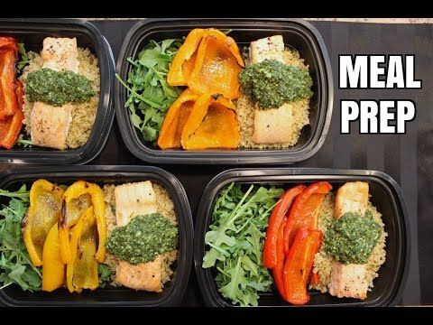 This is a basic, and DELICIOUS, meal prep. Meal prepping saves you time, money, and definitely helps you stay on top of your fitness and health goals. **PLEA...