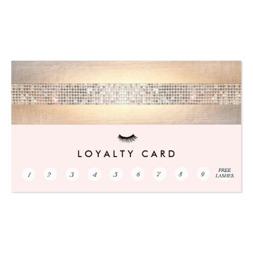 individual eyelash extension business cards - Eyelash Business Cards