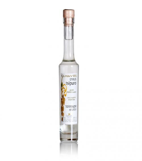 """Prestige Glinavos"" tsipouro from Epirus 200ml available at just 11.00€"