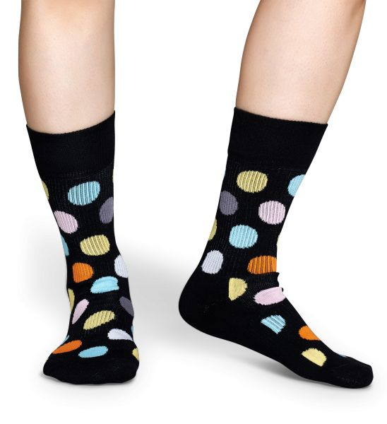 "Happy Socks are now doing ""athletic socks,"" for those who prefer something thicker and warmer on their feet."