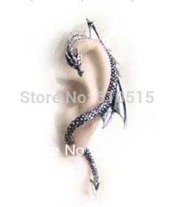 Orecchio sinistro del drago orecchino del polsino dell'involucro