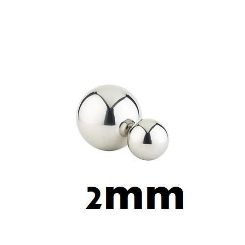 50PCs Armor Details up 2.0mm Metal Silver Bead Ball Parts For MG HG Gundam Model