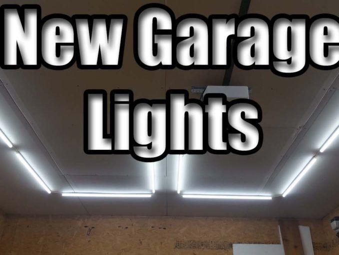 Diy Garage Led Light Install Barrina Led Light Review Led Lights Diy Garage Installation