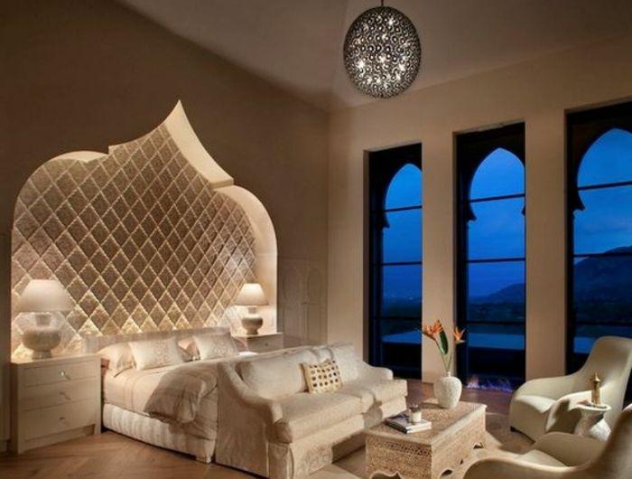 orientalische stoffe groe fenster lampen bett design weises schlafzimmer lampen luxusdesign traumhaft - Fantastisch Heimwerken Entzuckend Schlafzimmer Set Weiss Idee